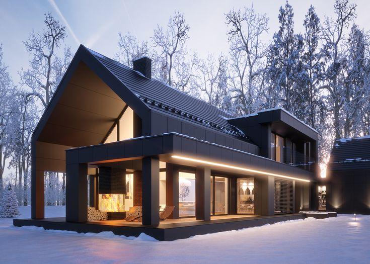 Проекты каркасных домов 50-100 кв.м.
